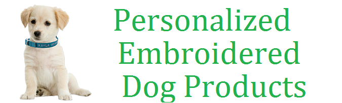 Personalized Embroidered Identification Dog & Cat Collars.