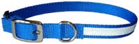 Personalized Embroidered Reflective Metal Buckle Adjustable Collars